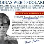 Paginas web 50 dolares